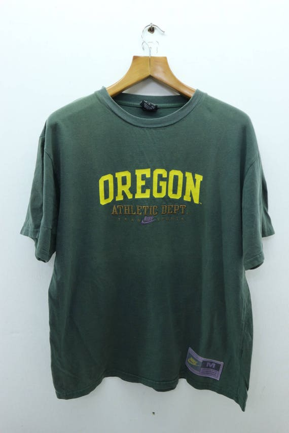 dostać nowe taniej fabrycznie autentyczne Vintage Nike Oregon Athletic Dept T-Shirt Running Sport Air Max Street Wear  Top Tee Size M