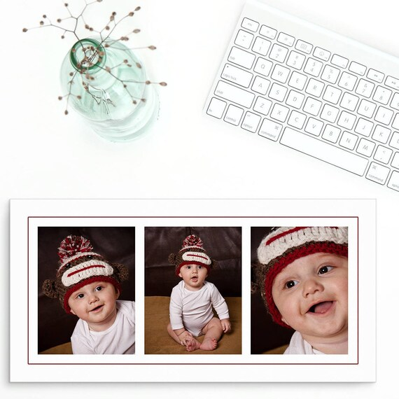 Photoshop collage template 10x20 3 images baby photo etsy image 0 maxwellsz