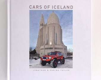 Cars of Iceland book - ideal gift for petrol head!