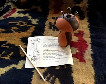 French Knitter / Yarn Mushroom