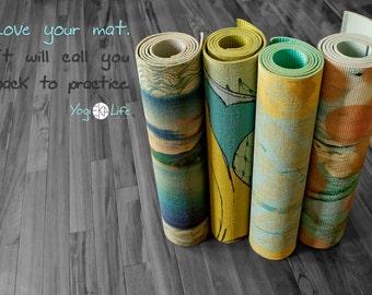 Custom Yoga Mat: Make it your own, Photo/image/design/quote, Personalize, Pilates Mat, Yoga Mats, Meditation, Yoga Gift