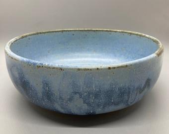 Handmade Ceramic Rustic Blue Bowls