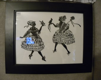 Dancing Ladies SIlhouette