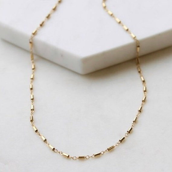 Gold Chain Necklace Choker Necklace Gold Chain Necklaces Etsy