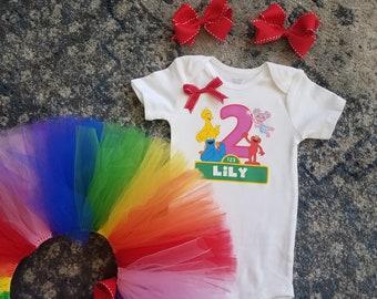 Sesame Street Birthday Outfit Etsy
