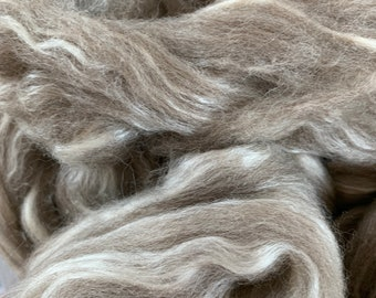 Bluefaced Leicester Tussah Silk 70/30 4oz