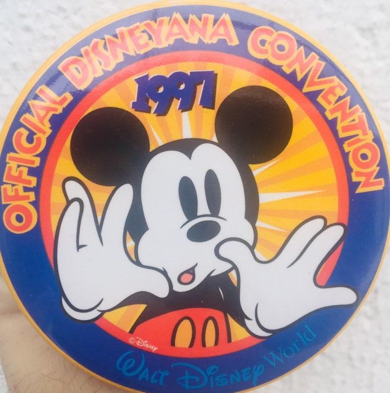 1997 Disneyana Convention Button