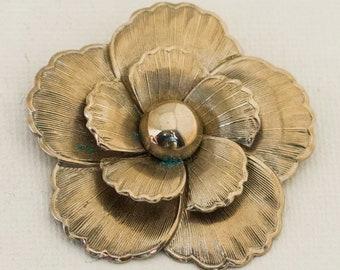 Antique Victorian Silver Oval Ivy /& Cross Design Brooch Birm 1888