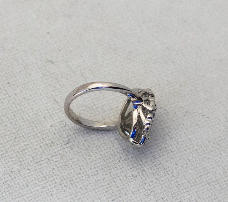 Silver Ring Multiple Sizes Edwardian Ring Avon Ring Fantasy Ring Elegant Ring Medieval Ring Beautiful Ring Art Nouveau Ring