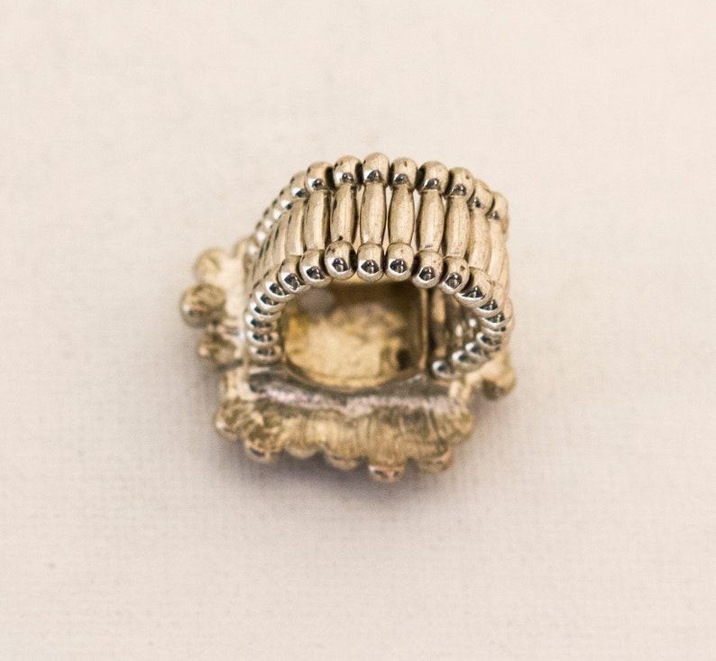 Art Deco Ring Antique Rings Elven Ring Fantasy Ring Statement Ring Antique Ring Adjustable Ring Floral Vintage Ring Flower Ring