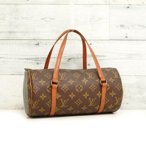 Authentic LOUIS VUITTON Monogram PAPILLON 26 Satchel Handbag  f94950832e4ea
