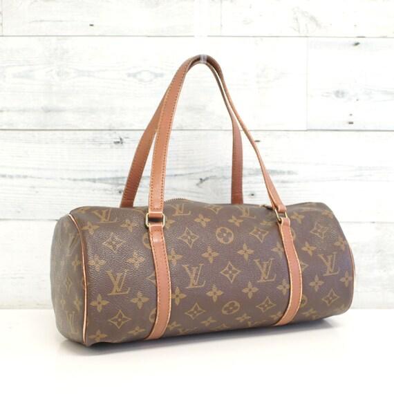 Authentic LOUIS VUITTON Monogram Papillon 30 Handbag Satchel   Etsy b67a110b08