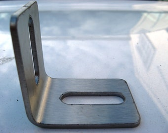 Stainless Steel 90 Degree Metal Angle Bracket (set of 6) 40mm x 50mm 2.5mm thick