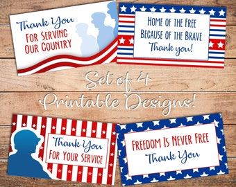graphic relating to Free Printable Veterans Day Cards known as Veterans working day card Etsy