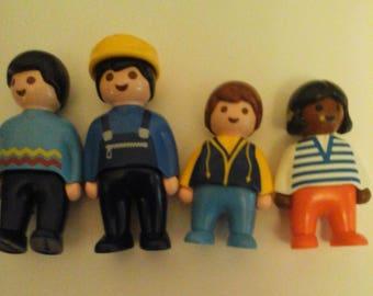 4 Playmobil People