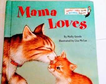 Mama Loves (Bright & Early Books(R)) by Molly Goode | Hardcover 1998