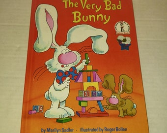 The Very Bad Bunny Hardcover – September 12, 1984 by Marilyn Sadler  (Author) Like New