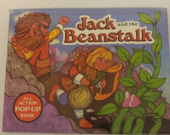 Jack and the Beanstalk.All Action Pop-Up Book Kubasta, Vojtech Like New