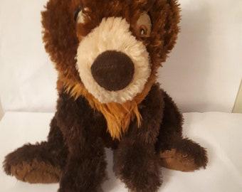 """12"""" Disney Store Exclusive Brother Bear Floppy Koda Bean  Plush"""