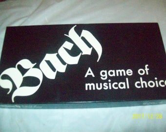 Bach A game of musical choice 1995 Complete