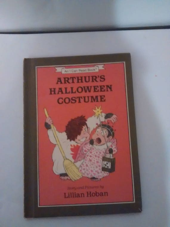 arthurs halloween costumean i can read bookstory and etsy