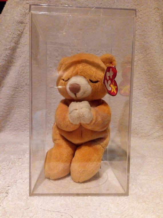 Ty Beanie Baby Hope the Praying Bear MWMT  fb64d25c4523