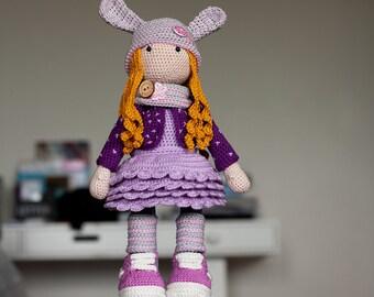 Crochet doll Alina