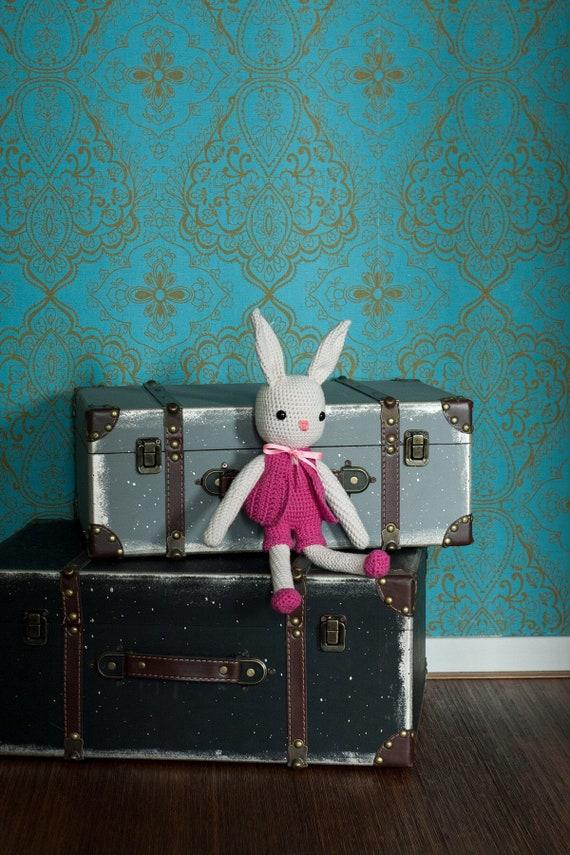 My Crochet Hug Hare Stuffed Animal Etsy