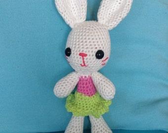 """Crochet amigurumi """"Louise the rabbit"""""""