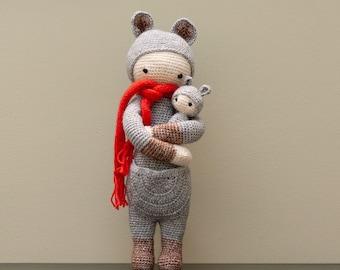 Lalylala Kira the Kangaroo cuddle with baby