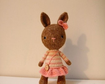 Rabbit Lulu with skirt
