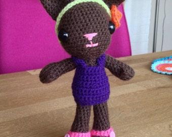 """Crochet Amigurumi """"Tara the Cat"""""""