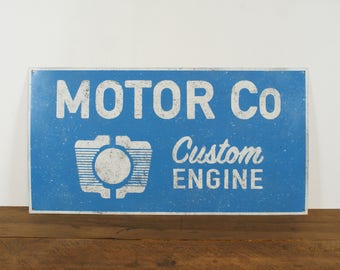 Deco sign Motor Co