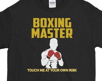 Boxing Shirt Boxing Gift Tee Boxing Coach Unique Gift T-Shirt