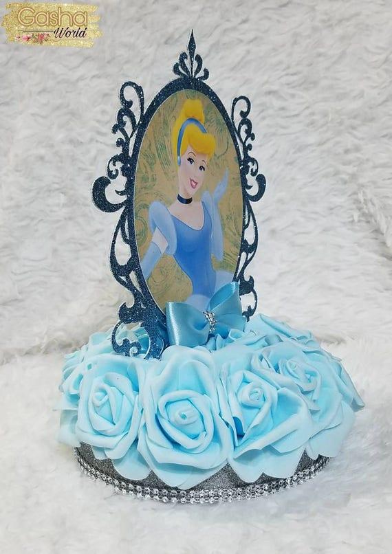 1 pc Cinderella Centerpiece Disney Princess CinderellaCinderella ThemeDisney PrincessCinderellaCenterpiecePrincess Cinderella