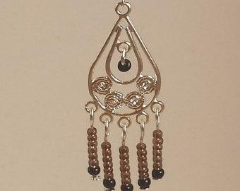 Amethyst Chandelier  Earrings