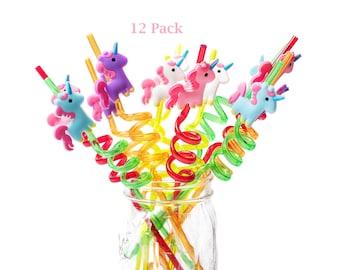 Unicorn Party Decor Mermaid Party Straws Iridescent Party Decor Unicorn Straws Iridescent Party Paper Straws Unicorn Party Tableware