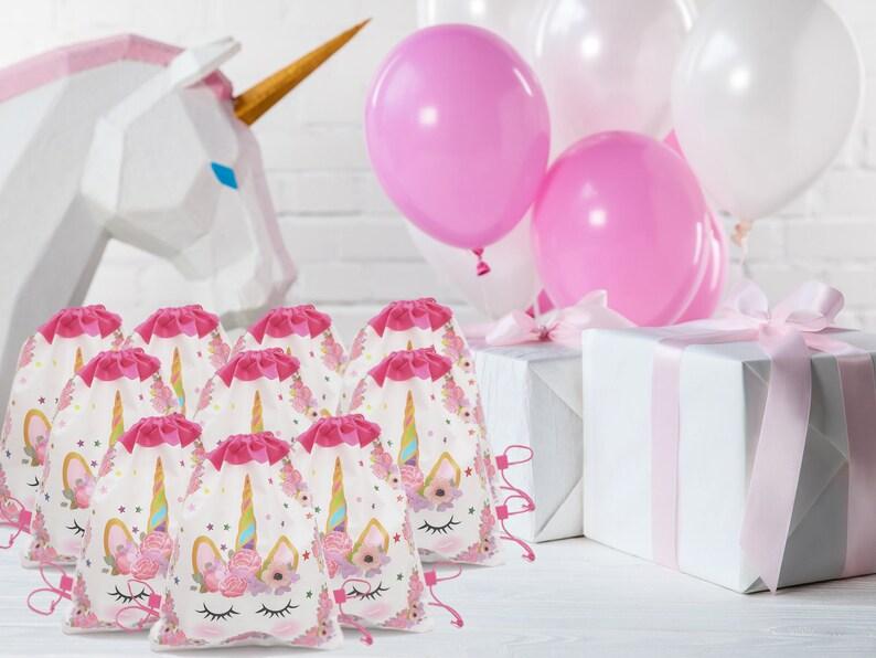 Unicorn Gifts for Girls Unicorn Gift Bag Unicorn Birthday Decorations Unicorn Goody Bag Unicorn Gift Bag 10 Pack Unicorn Party Supplies