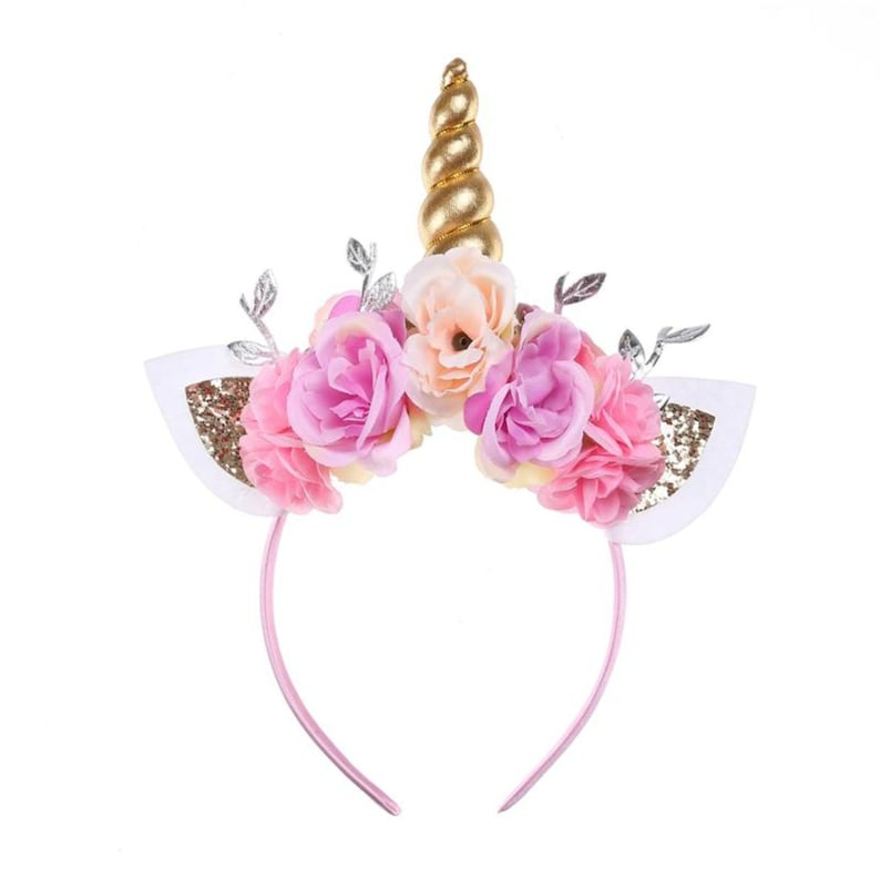 Unicorn Headband for Girls Adults Women Toddler Baby Teens image 0