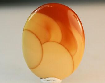 Bruneau Jasper designer cabochon, rare material from Idaho