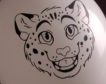MADE TO ORDER - Snow Leopard Print!