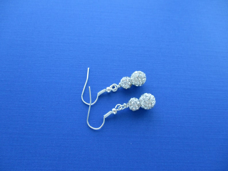 Bridesmaid gifts-Bridal Party gift-Maid of Honor gift Silver Bride Gifts Bridal gift Pave Crystal Bridal Jewelry Set Wedding Jewelry