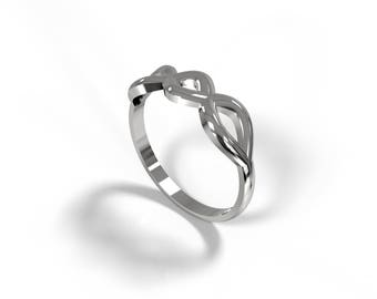 Infinity - Infinity ring symbol - Infinity knot ring