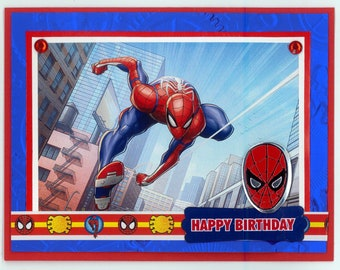 Wonder Woman Birthday Card Etsy