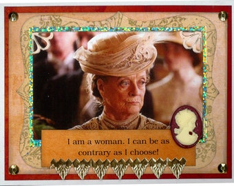 Downton Abbey Card