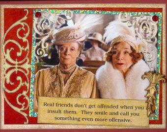 Downton Abbey Card