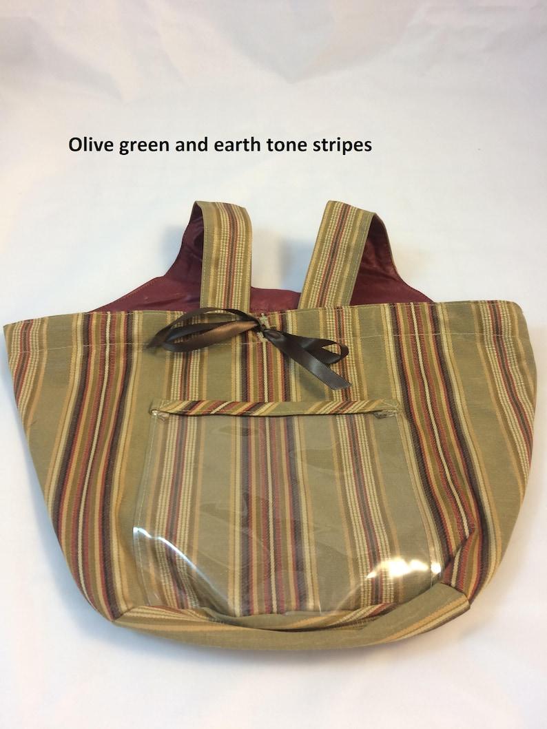 Tie-on spinning wheel fluff bag