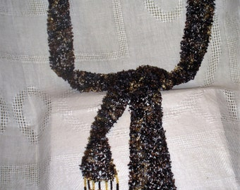 Knit Sash