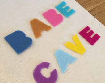 Babe Cave Canvas Banner / Wall Hanging