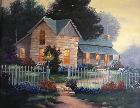 Image result for white picket house painting
